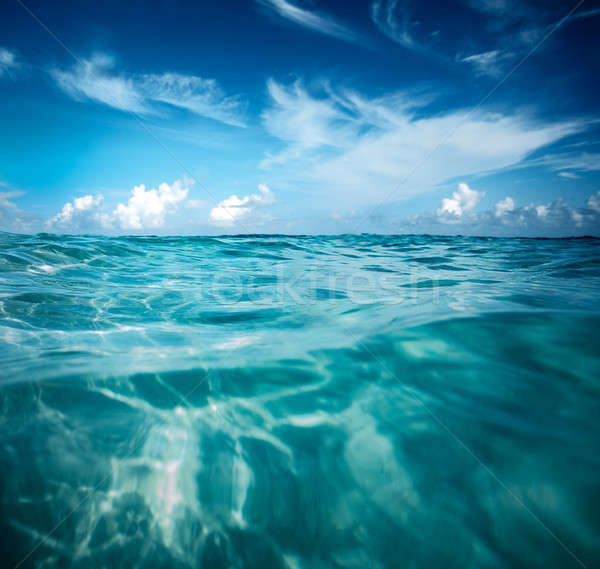 美しい 海景 すごい 表示 透明な ターコイズ ストックフォト © Anna_Om