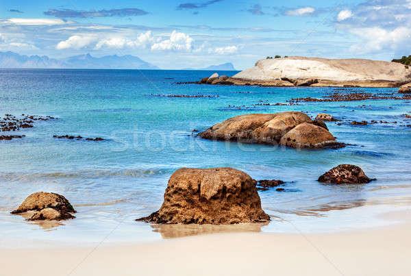 Beautiful beach landscape Stock photo © Anna_Om