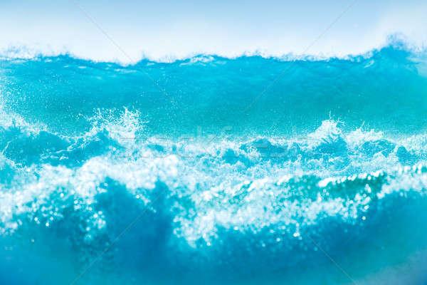 Blue waves background Stock photo © Anna_Om
