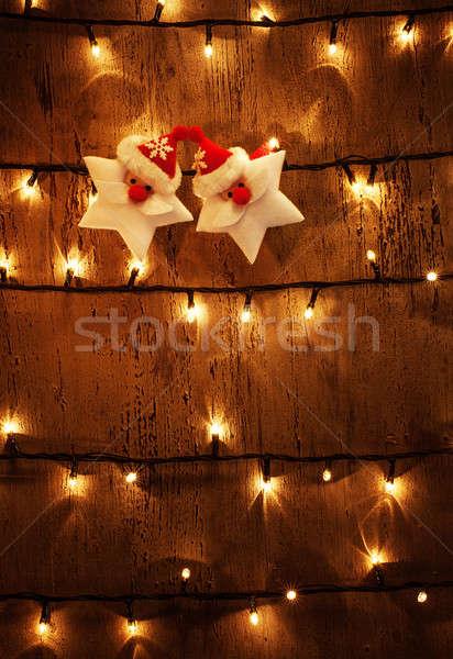 Christmas festive background Stock photo © Anna_Om