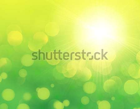 Stock photo: Fresh green abstract background