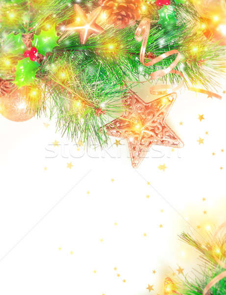 Beautiful Christmas decoration Stock photo © Anna_Om