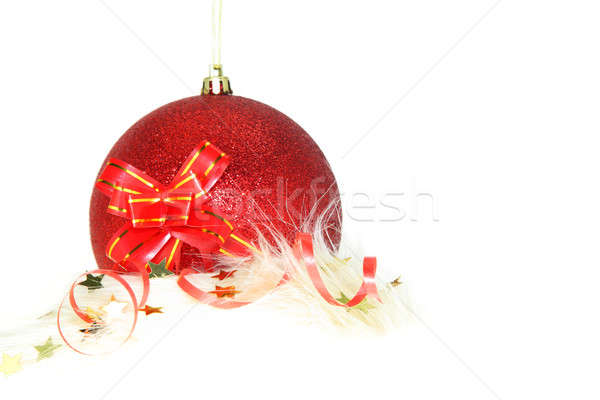Christmas and New Year ornament Stock photo © Anna_Om
