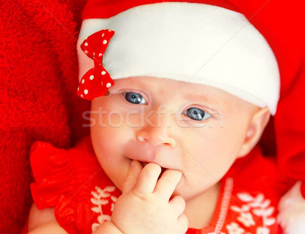 Childrens Christmas party Stock photo © Anna_Om