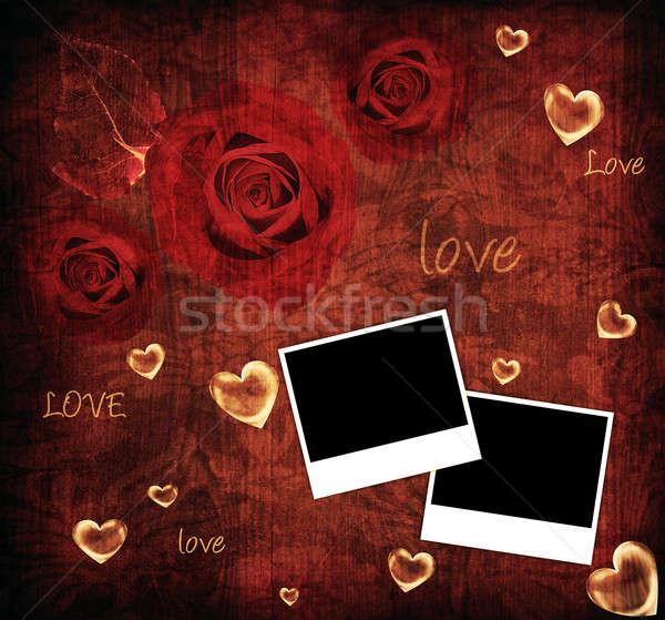 Valentine background card Stock photo © Anna_Om