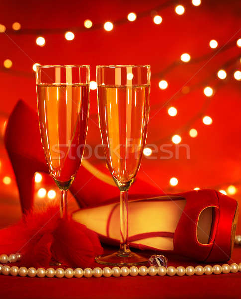 Romantic still life Stock photo © Anna_Om