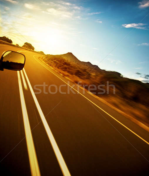 Road trip Stock photo © Anna_Om