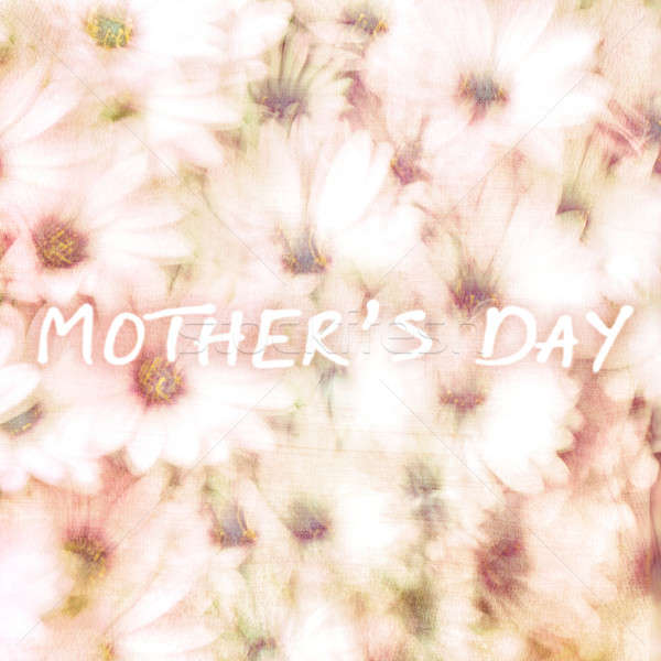 Greeting card for mothers day Stock photo © Anna_Om