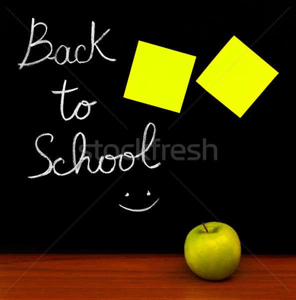 Zdjęcia stock: Powrót · do · szkoły · kolorowy · studentów · klasie · czasu