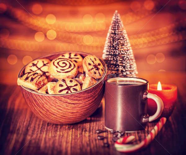 Christmas cookies Stock photo © Anna_Om
