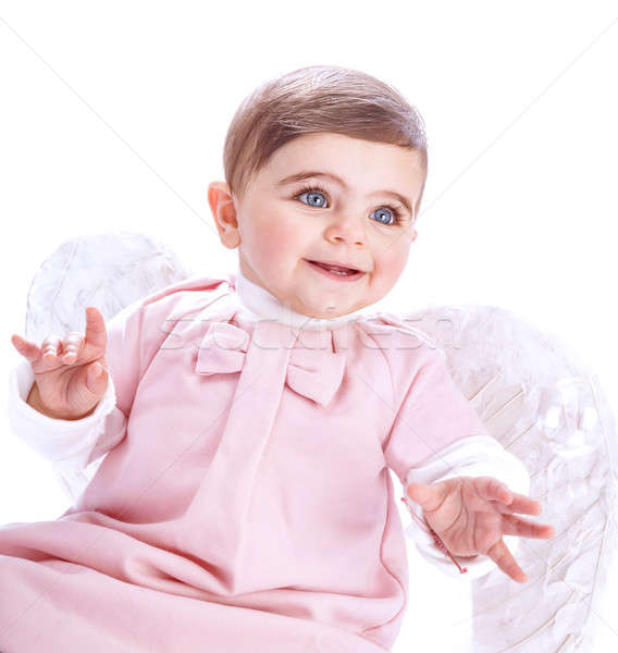 Cute baby angel  Stock photo © Anna_Om