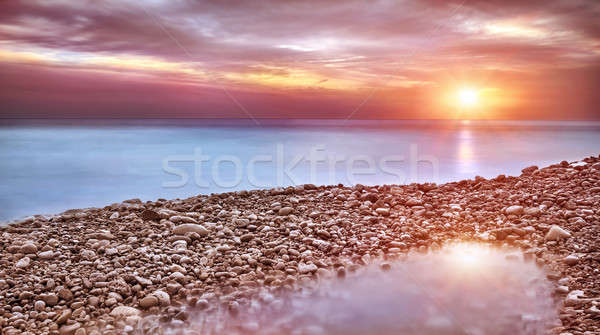 Belo praia paisagem surpreendente ver Foto stock © Anna_Om