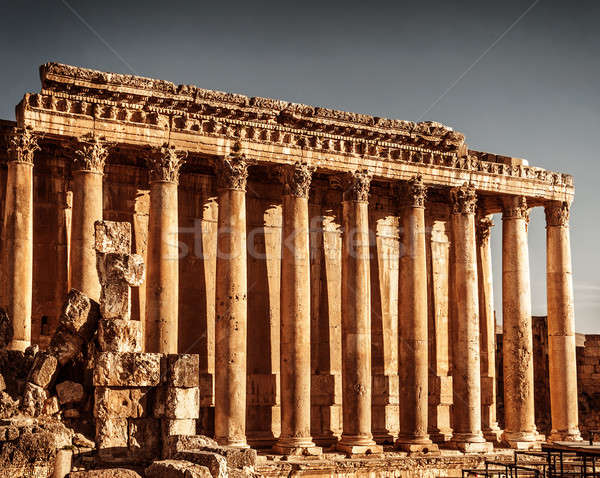 Jupiter's temple, Baalbek, Lebanon Stock photo © Anna_Om