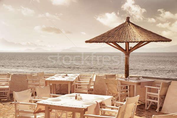 Stock photo: Luxury beach resort