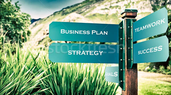 Business and success concept Stock photo © Anna_Om
