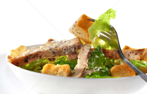 Chicken Caesar salad Stock photo © Anna_Om