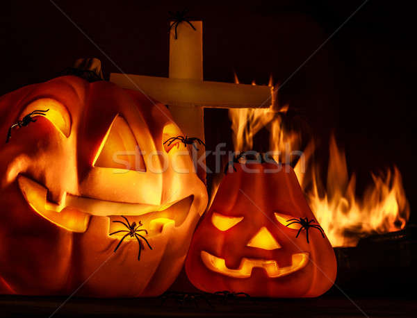 Stock photo: Scary Halloween night