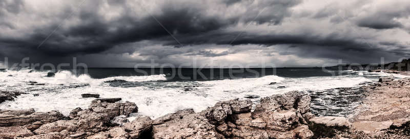 Storm on the sea Stock photo © Anna_Om