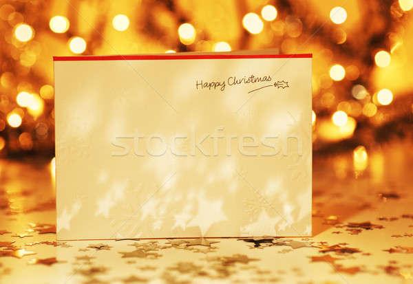 Stock photo: Beautiful Christmas card