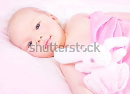 Cute little child Stock photo © Anna_Om