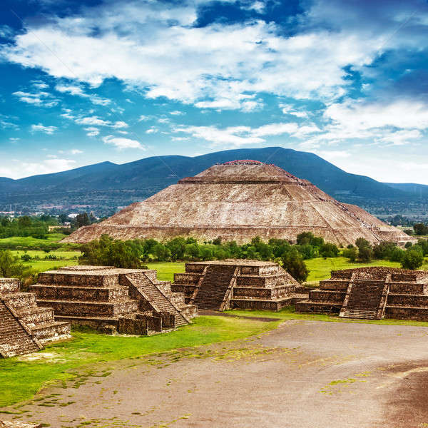 Pyramids of Mexico Stock photo © Anna_Om
