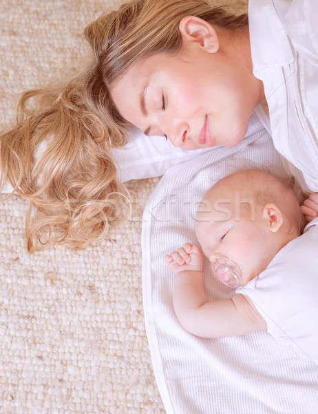 Yeni hayat fotoğraf çok güzel bebek güzel Stok fotoğraf © Anna_Om