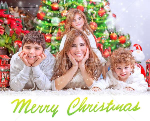 Stock photo: Happy Christmas holidays
