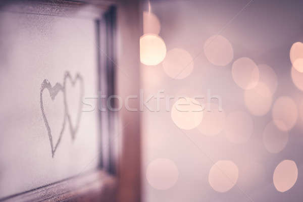 Stock photo: Open doors to love