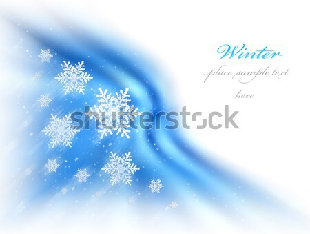 Abstract winter background Stock photo © Anna_Om