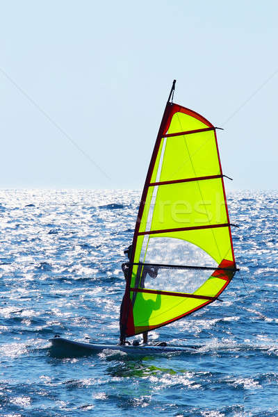 Windsurfer Stock photo © Anna_Om