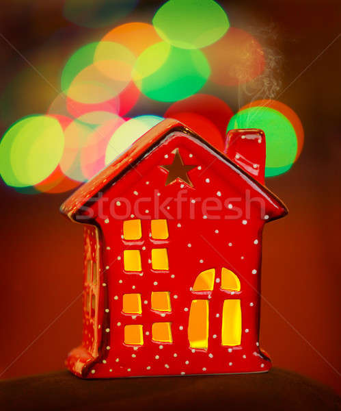 Beautiful Christmas decoration Stock photo © Anna_Om
