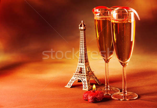 Two wine glass Stock photo © Anna_Om