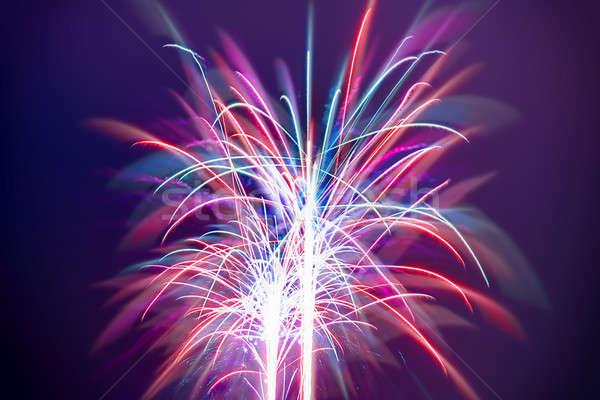 Firework Stock photo © Anna_Om