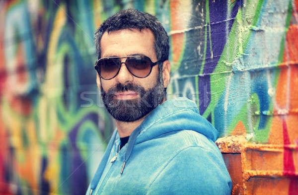 Handsome man portrait Stock photo © Anna_Om