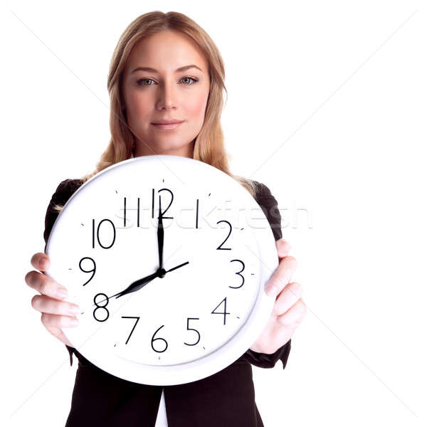 Come to work in time Stock photo © Anna_Om