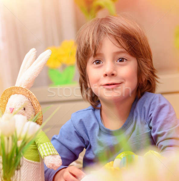 Celebrating Easter holiday Stock photo © Anna_Om