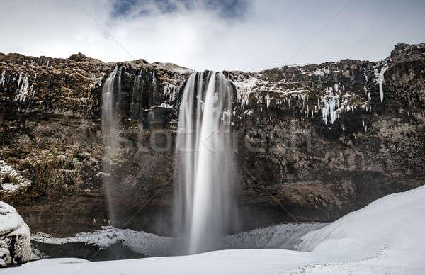 Seljalandsfoss waterfall Stock photo © Anna_Om