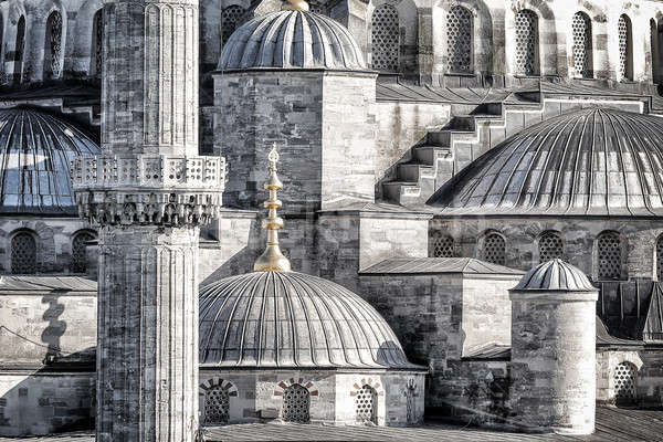 Blue Mosque background Stock photo © Anna_Om