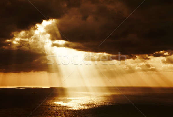 Dramatic sunset  Stock photo © Anna_Om