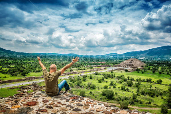 Man travels to Mexico Stock photo © Anna_Om