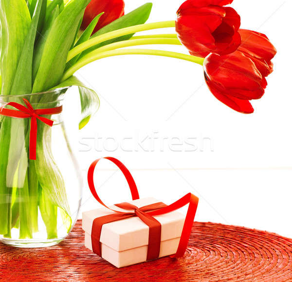 Gift for mothers day Stock photo © Anna_Om