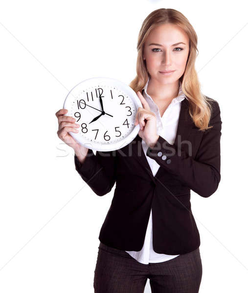 Discipline and punctual concept Stock photo © Anna_Om