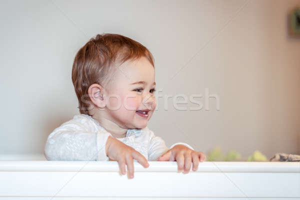 Happy little child Stock photo © Anna_Om