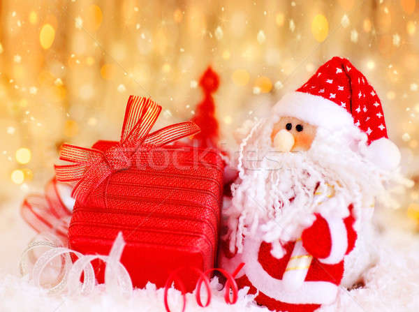 Stock photo: Christmas gift from Santa