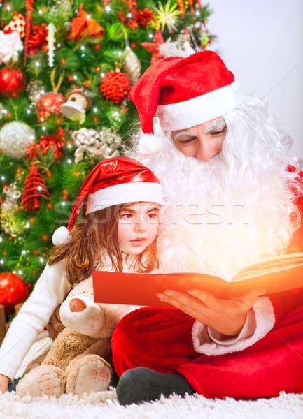 Magical Christmas story Stock photo © Anna_Om