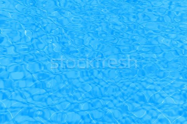 Kék víz hullámos minta természet fény Stock fotó © Anna_Om