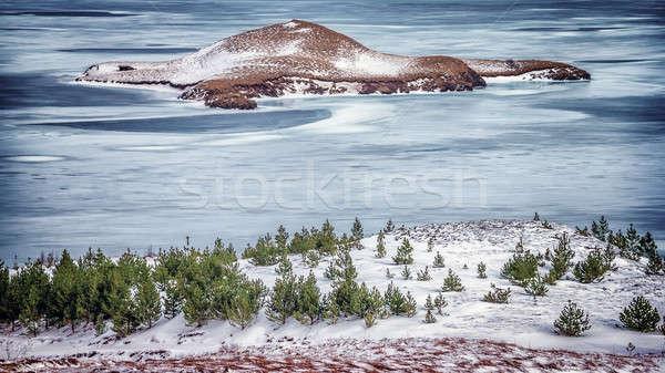 Beautiful Icelandic landscape Stock photo © Anna_Om