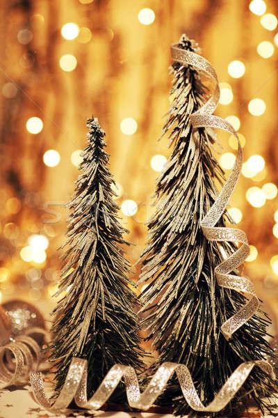 Christmas tree decoration Stock photo © Anna_Om