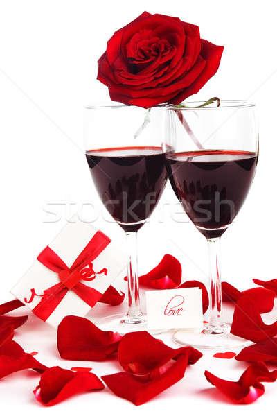 Romantic holiday celebration Stock photo © Anna_Om
