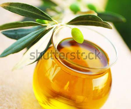 Ripe fresh green olives Stock photo © Anna_Om